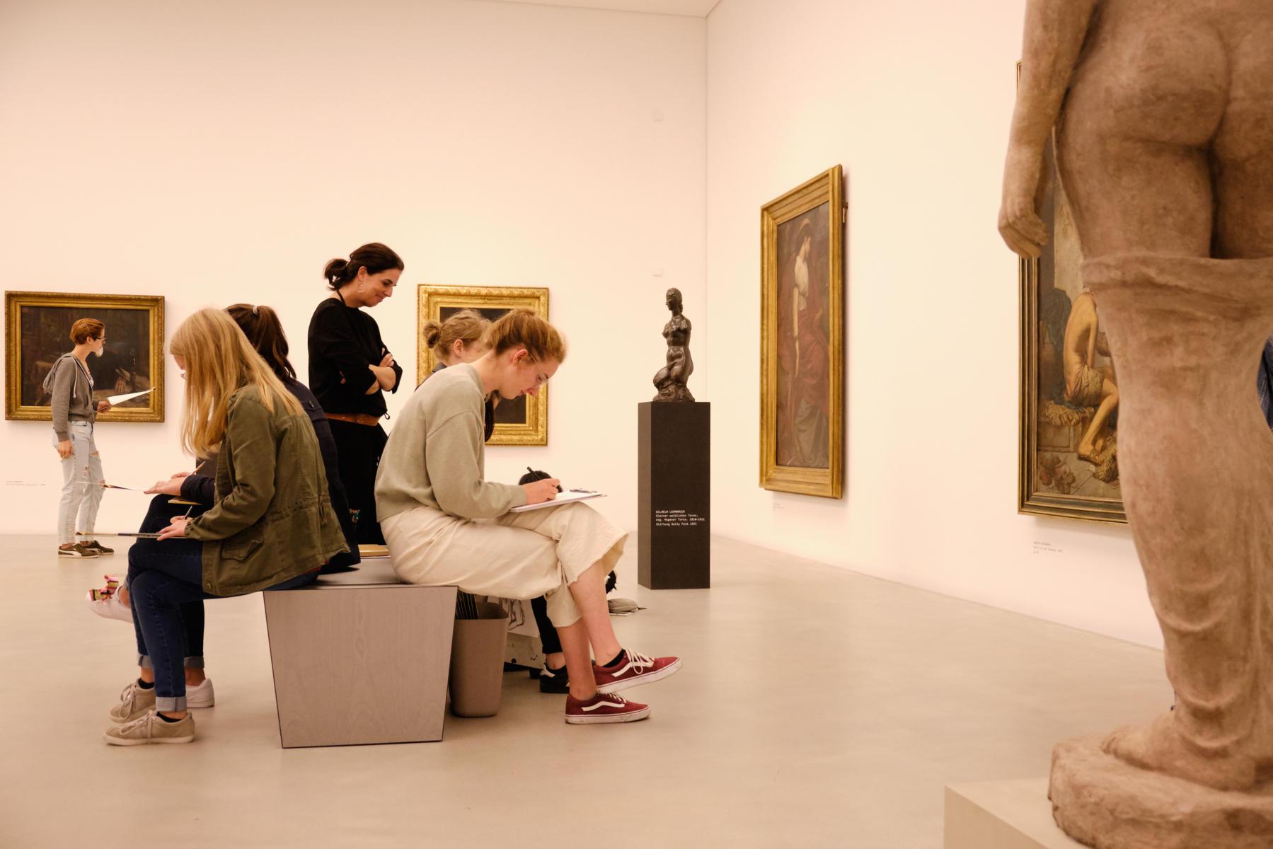 Vierstünder in der Kunsthalle Mannheim