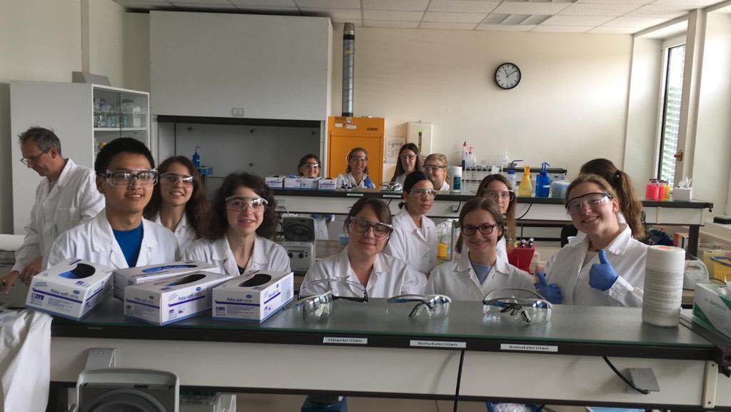 Biologie-Exkursion ans KIT