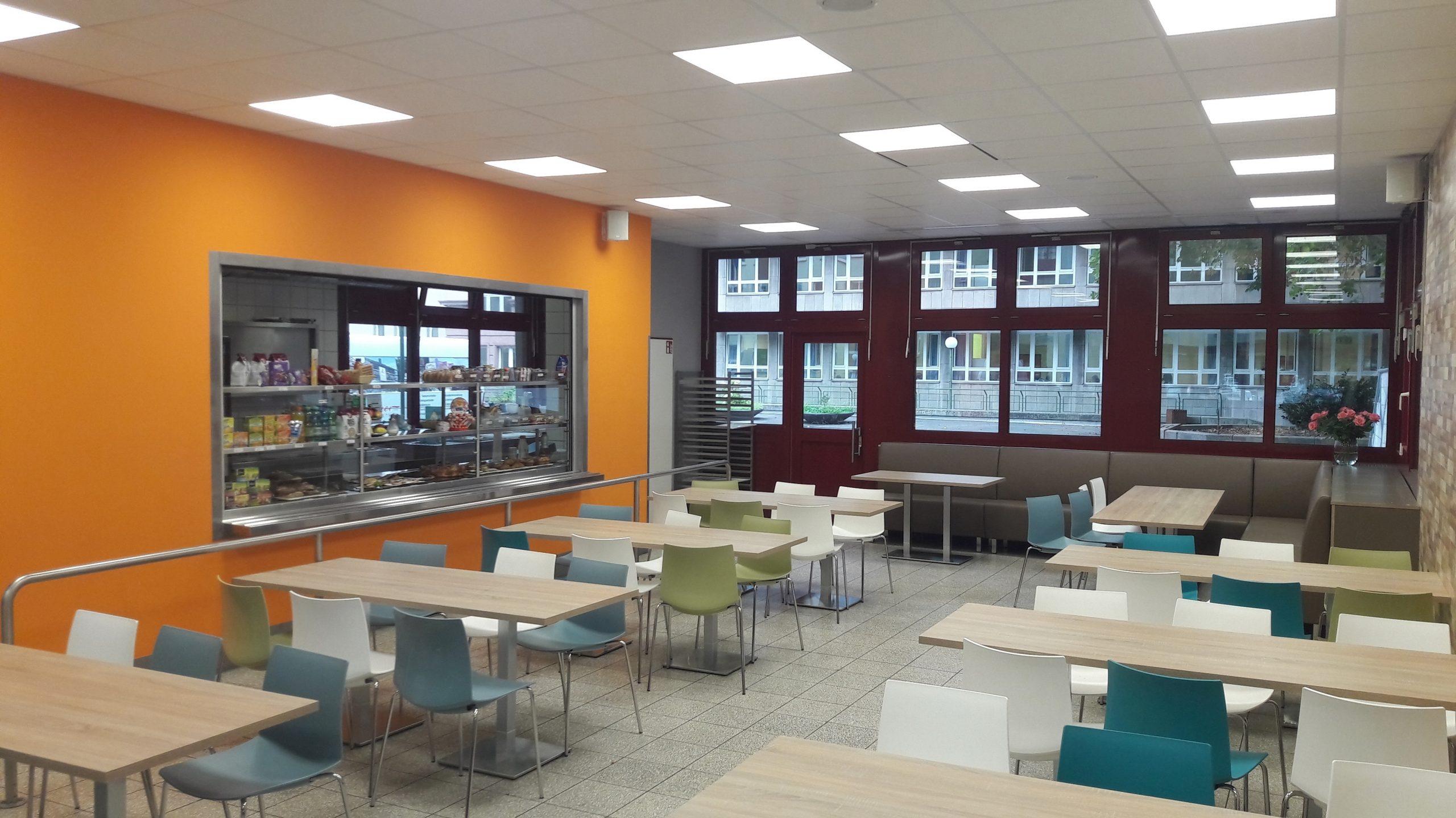 Neue Hebel-Lounge pünktlich zum Schuljahresbeginn!