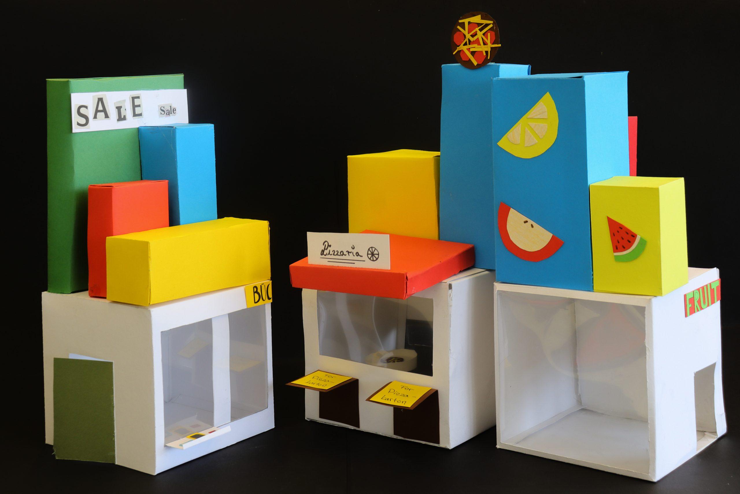 Schulkunst 100 Jahre Bauhaus: Die 7c ist dabei!