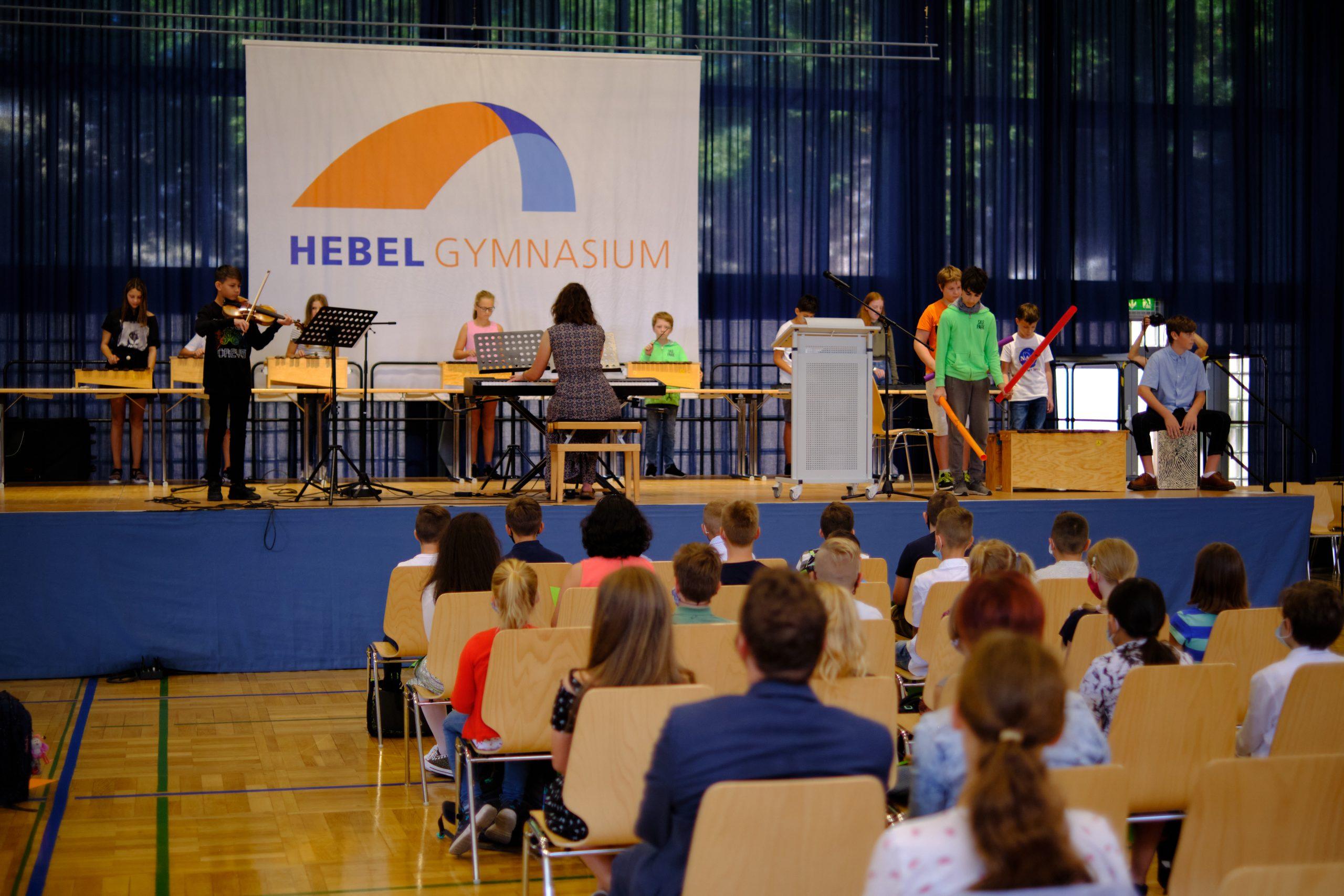 Einschulungsfeier 2020: Willkommen am Hebel!